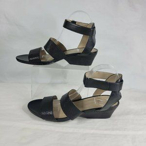 Naturalizer Sandals Double Straps Leather